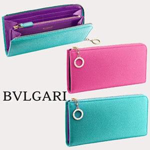 ブルガリ【BVLGARI】偽物即対応 L型ジップ長財布