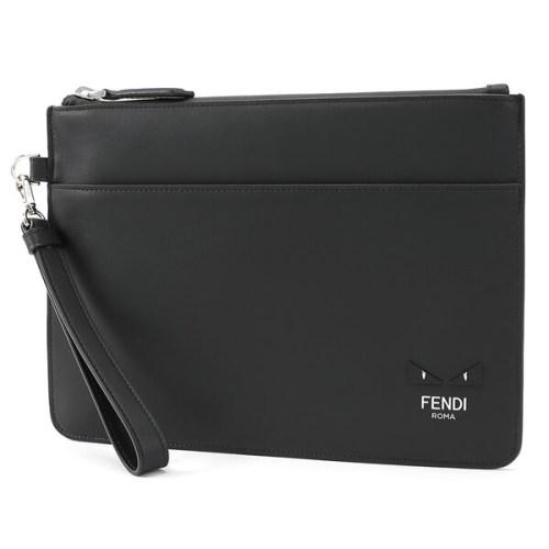 フェンディ クラッチバッグ コピー FENDI モンスター MINI OCCHI BUGS CLUTCH WITH STRAP