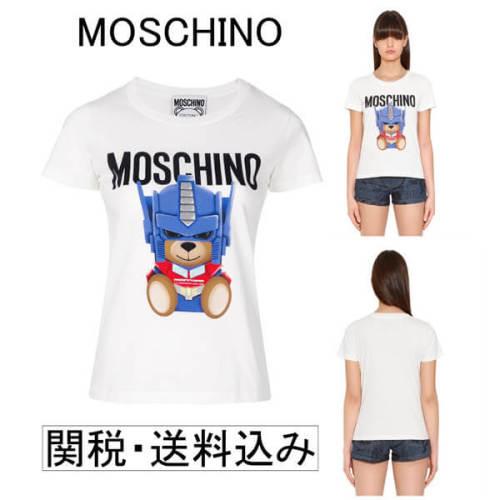 モスキーノ コピーMOSCHINO 2018 トランスフォーマー Fit-Tシャツ