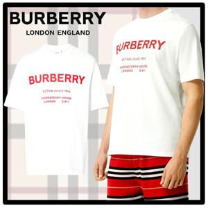 バーバリー Tシャツ コピー BURBERRY/ORSEFERRY PRINT COTTON T-SHIRT
