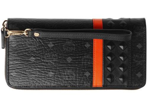 MCM 財布 コピーMXL5SVU11 BK001 ユニセックス ブラック/コンビ