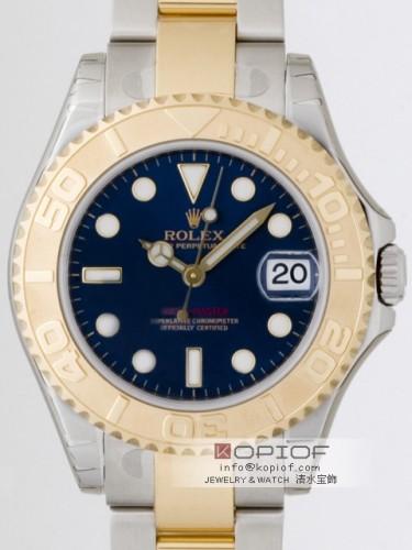 ロレックス ヨットマスター スーパーコピー168623 ボーイズ ブルー
