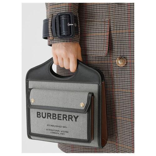 ☆★BURBERRY★☆バーバリー ポケットバッグ コピー ミニトライトーン