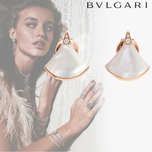 入手困難 !【BVLGARI】コピー即対応 DIVAS'DREAM マザー オブ パール ブルガリの人気のピアスです。