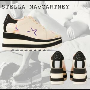 Stella McCartney◎スニーク エリスシューズ 偽物 ELYSE スター シューズ 800209N0124K948