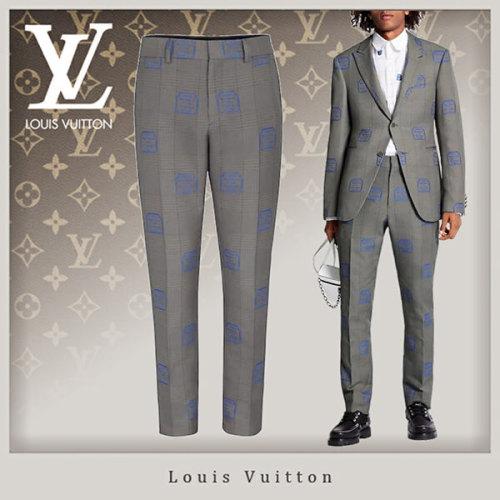 20SS Louis Vuitton シガレットパンツ偽物★岩ちゃん愛用!1A5W3N