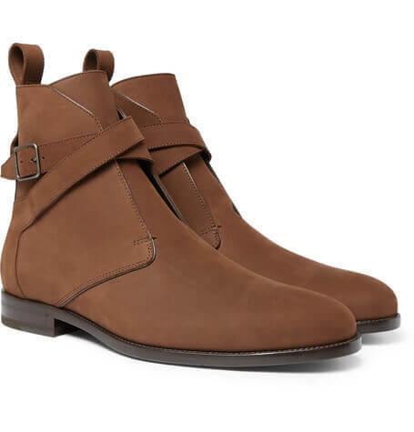 サンローラン靴ブーツ コピー ジョッパーブーツ サンローランらしいクラシックなデザインが素敵なジョッパーブーツ