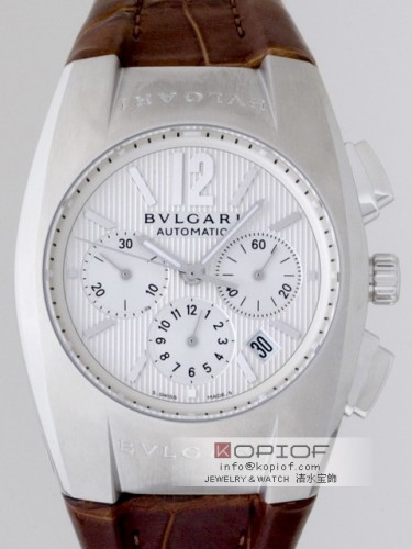 ブルガリ エルゴン スーパーコピーEG40C6SLD CH クロノグラフ ホワイト