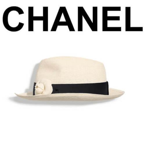 CHANEL シャネルスーパーコピー 春夏小物もシャネルで!2018年春夏シャネルカメリアハット帽子
