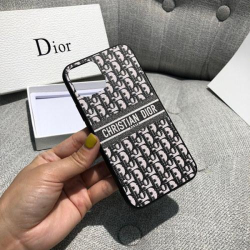 dior iphoneケース コピー ディオール オブリーク カーフスキン IPHONE XSケース