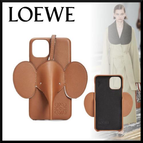 LOEWE ロエベ iphoneケース コピー エレファント iPhone レザーケースC719C80X01