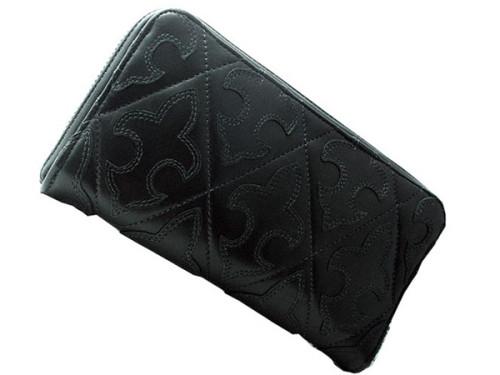 クロムハーツ 財布 コピー長財布/REC F ZIP ♯2/フレア ブラック