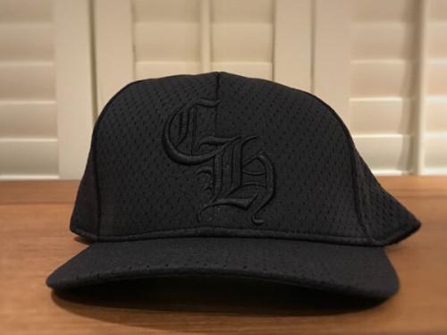 クロムハーツ 帽子 コピー CHロゴ 黒トップ部シルバー925 キャップ