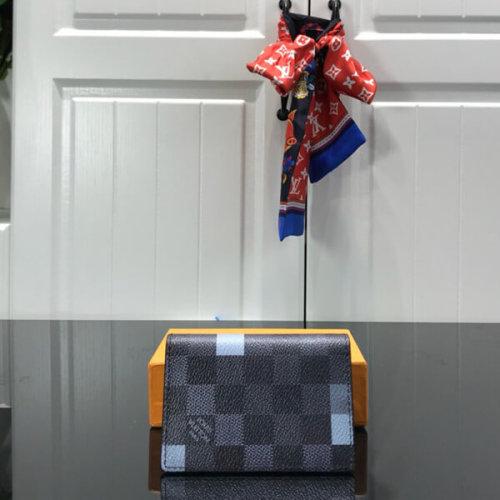 ルイヴィトン オーガナイザー ドゥ ポッシュ N60158 ダミエ グラフィット カードケース