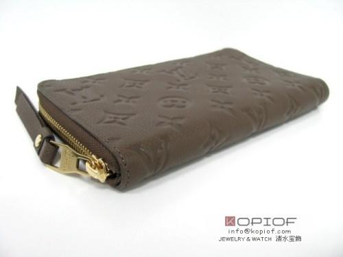 ルイヴィトン モノグラムアンプラント財布スーパーコピーポルトフォイユ・スクレット・ロン オンブル M93436