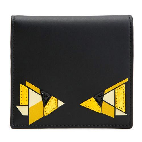 フェンディ 財布 モンスター 偽物 20SS モンスターパッチ 二つ折り財布 モデルコード 0274 R2A