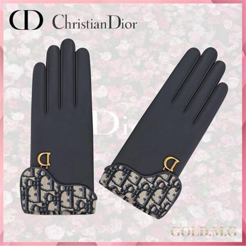 Dior ディオール サドル グローブ 手袋 95GLO751G501_C540
