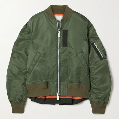 sacai サカイ オーバーサイズ ボンバージャケット 偽物 MA‐1