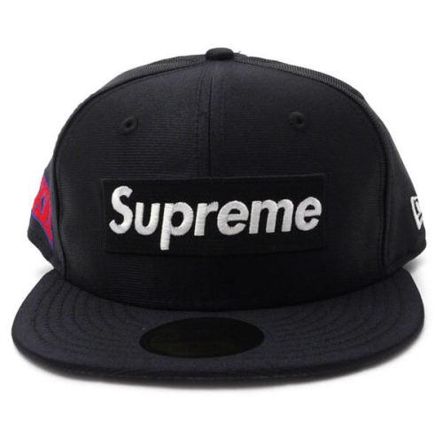 シュプリーム ビーニー 偽物 Supreme Dazzle Box Logo New Era 黒