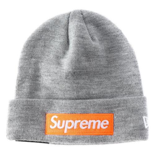 シュプリーム ニューエラ 偽物 Supreme ニット帽 New Era Box Logo Beanie
