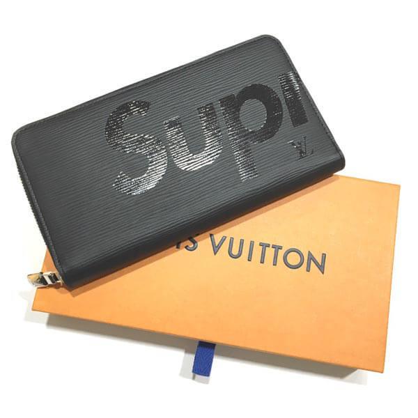 ルイヴィトン 財布 コピー シュプリーム LOUIS VUITTON supreme ジッピーオーガナイザー エピ 黒 M67723 箱のラッピング 2017年