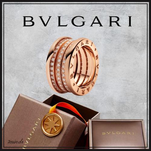BVLGARI(ブルガリ)コピー- セラ ビー・ゼロワン リング B.ZERO1 RINGS B.zero1 four-band ring in 18kt rose gold