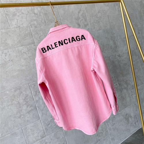バレンシアガ 偽物 トンシャツ Balenciaga トーンオントーンのマザーオブパールボタン