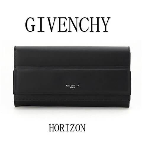 GHIVENCHY ジバンシー 財布コピー HORIZON(ホライゾン) ロング フラップ 長財布 BC06788005001