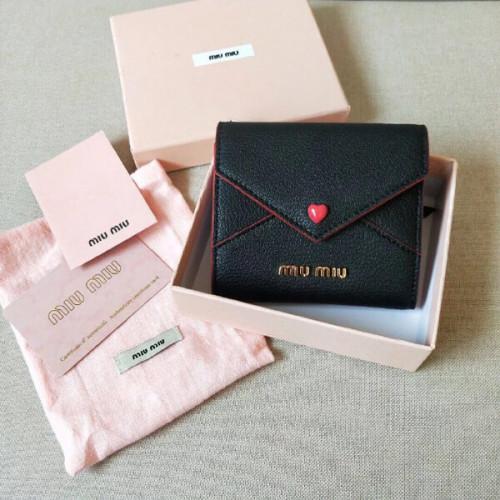 2020大人気 MIUMIU ラブレターコピー ミュウミュウ 折財布 MADRAS LOVE 5MH021_2BC3_F00023