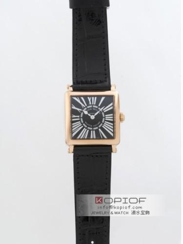 フランクミュラー マスタースクエア スーパーコピー6002SQ 5N 5N ブラック皮 ブラック