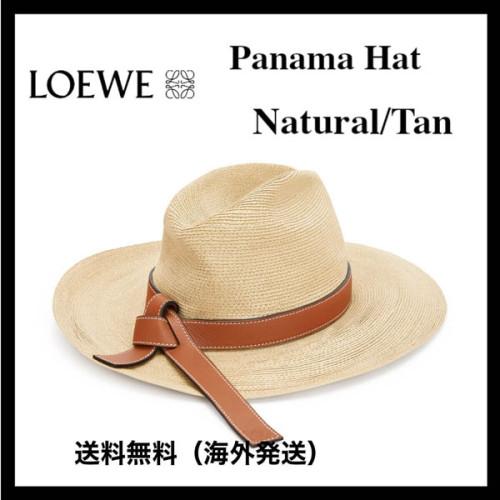 *LOEWE ロエベ キャップ コピー*Panama Hat Natural/Tan 222.29.024