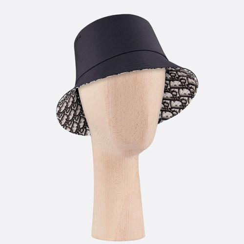 """【ディオール】Diorスーパーコピー ハット 帽子 """"TEDDY D"""" バケット リバーシブル CD ロゴ コットン スモールエッジボブハット新作 95TDD923A1302"""
