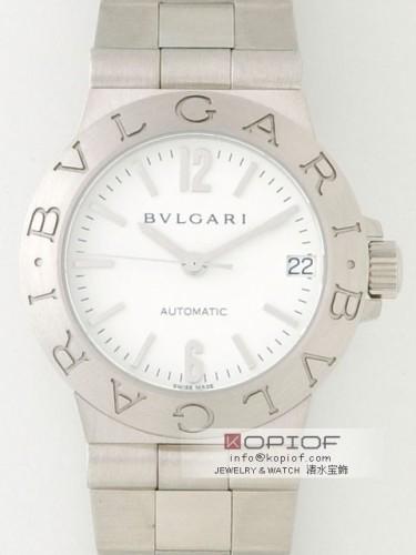 ブルガリ ディアゴノ スーパーコピーLCV29WSSD AUTO スポーツ ホワイト