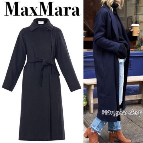 MAX MARA2017/18秋冬新作OCEANIA ロング ガウンコート マックスマーラ コピー