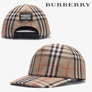 ☆Burberry バーバリー キャップ コピー ロゴアップリケ ベースボールキャップ 802692911
