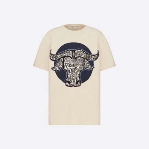 新作 ディオール x SHAWN カプセルコレクション Tシャツコピー 183M648AT851 C585
