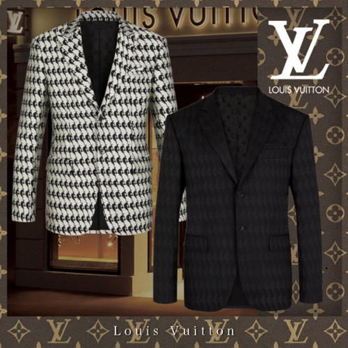 Louis Vuitton x NBAスーパーコピー★PATCH SUIT JACKET スーツジャケット / アウター / 長袖 ★2色 1A8I58