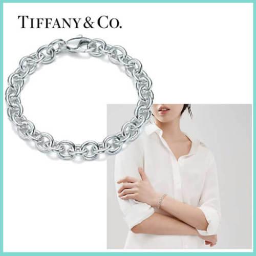 ティファニー ブレスレット コピー Tiffany&Co ラウンド リンク ブレスレット