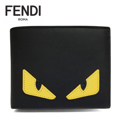 フェンディ モンスター 財布 コピー FENDI 7M0001 O73 F0U9T 折財布 バッグ バグズ