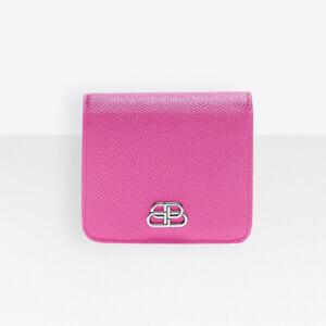新作★BALENCIAGA★BBレプリカフラップコイン&カードホルダー財布 (492831192)