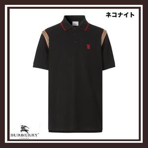 ★Burberry★バーバリー ポロシャツ コピー アイコンストライプ ポロシャツ8025869