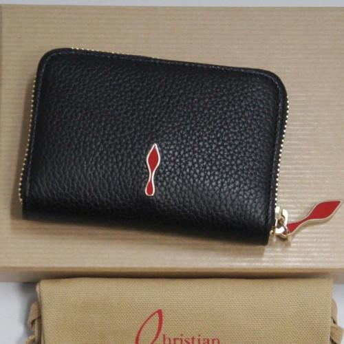 ルブタン 小銭入れ コインケース Panettone ブラック ルブタン 財布 コピー