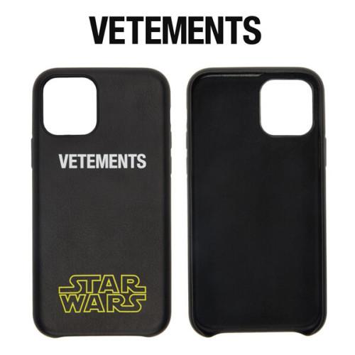 ヴェトモン iphoneケース 偽物 VETEMENTS STAR WARS Edition ロゴ iPhone 11 Pro ケース