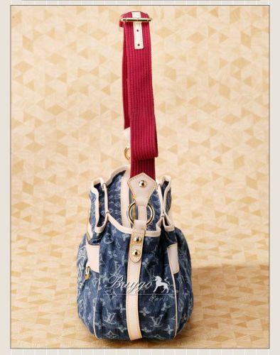 ルイヴィトン モノグラム デニムスーパーコピールイ ヴィトン クルーズ モノグラム・デニムレイエ・シリーズ カバ・レイエGM M95336
