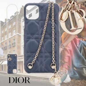 【新作】DIOR ディオール iphoneケース コピー Dior スマホケース デニムブルー 上品 S0356OVRB_M90B