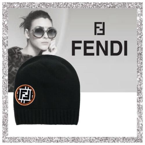 2018新作人気 キャップ スーパーコピー FENDI ニット帽 FENDI HAT KNIT
