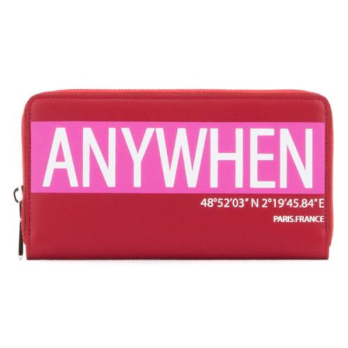 VALENTINO 長財布 GARAVANI ZIP AROUND WALLET レッド 上質なきめ細かく柔らかなレザーを使用した長財布です ヴァレンティノ 財布 コピー