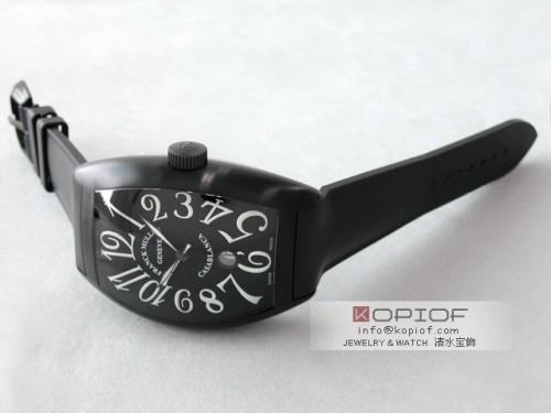 フランクミュラー カサブランカ スーパーコピー9880CDT NR BLACK CASA SS(PVD加工) ラバー ブラック