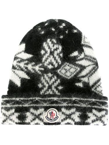 モンクレール 帽子 スーパーコピーMONCLER フェアアイル柄 ビーニー A2091003350006322