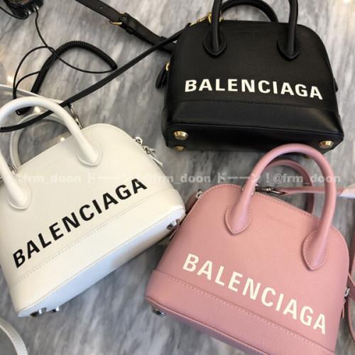バレンシアガ トート 偽物 ロゴ BALENCIAGA 2020SS ヴィル トップ ハンドル XXS
